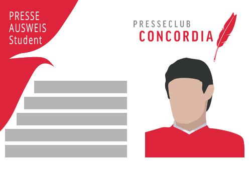 Presseclub Concordia Mitgliedsbeitrag für Studierende