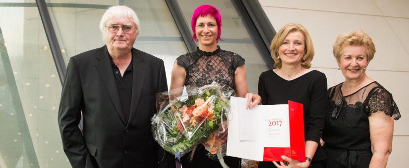 Concordia Preis 2017: Heinz Nußbaumer, Nina Strasser und Arnd Henze