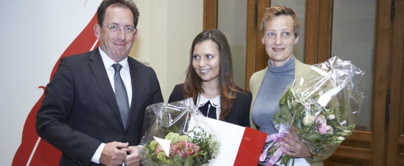 v. links: Andreas Koller, Marina Delcheva, Sibylle Hamann