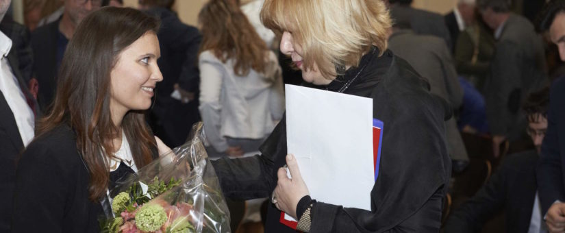 Preisträgerinnen Delcheva und Mijatovic
