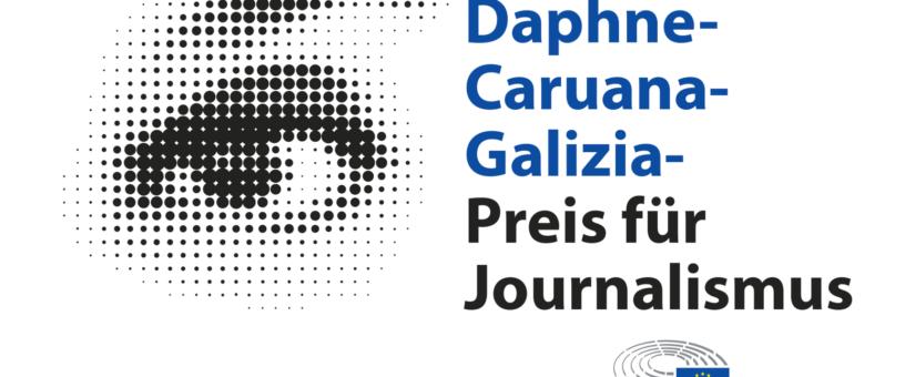 Pegasus-Projekt von EU-Parlament mit Daphne-Caruana-Galizia-Preis ausgezeichnet